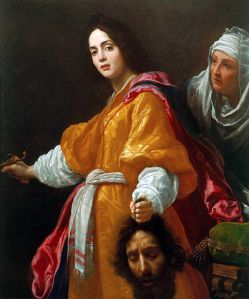 """Judith with the Head of Holofernes by Cristofano Allori"" by Cristofano Allori - Royal Collection. Licensed under Public Domain via Commons - https://commons.wikimedia.org/wiki/File:Judith_with_the_Head_of_Holofernes_by_Cristofano_Allori.jpg#/media/File:Judith_with_the_Head_of_Holofernes_by_Cristofano_Allori.jpg"